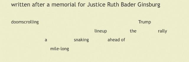 Snaking Lineup Haiku