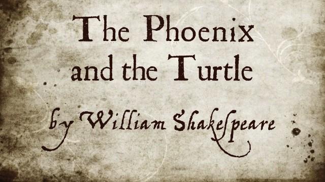 A Fênixe O Pombo (Shakespeare)