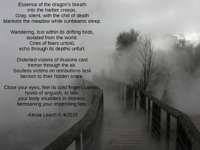 Dragon's Breath Poem by Alesia Leach - Poem Hunter Comments