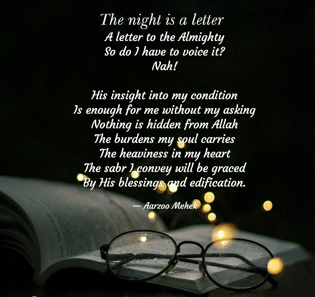 A Letter To The Almighty