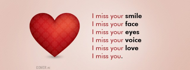 I miss you and love you poems