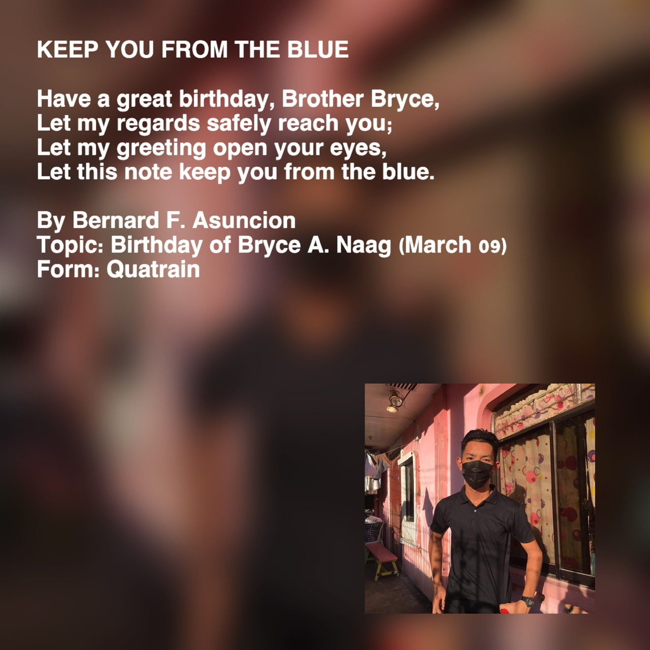 Keep You From The Blue