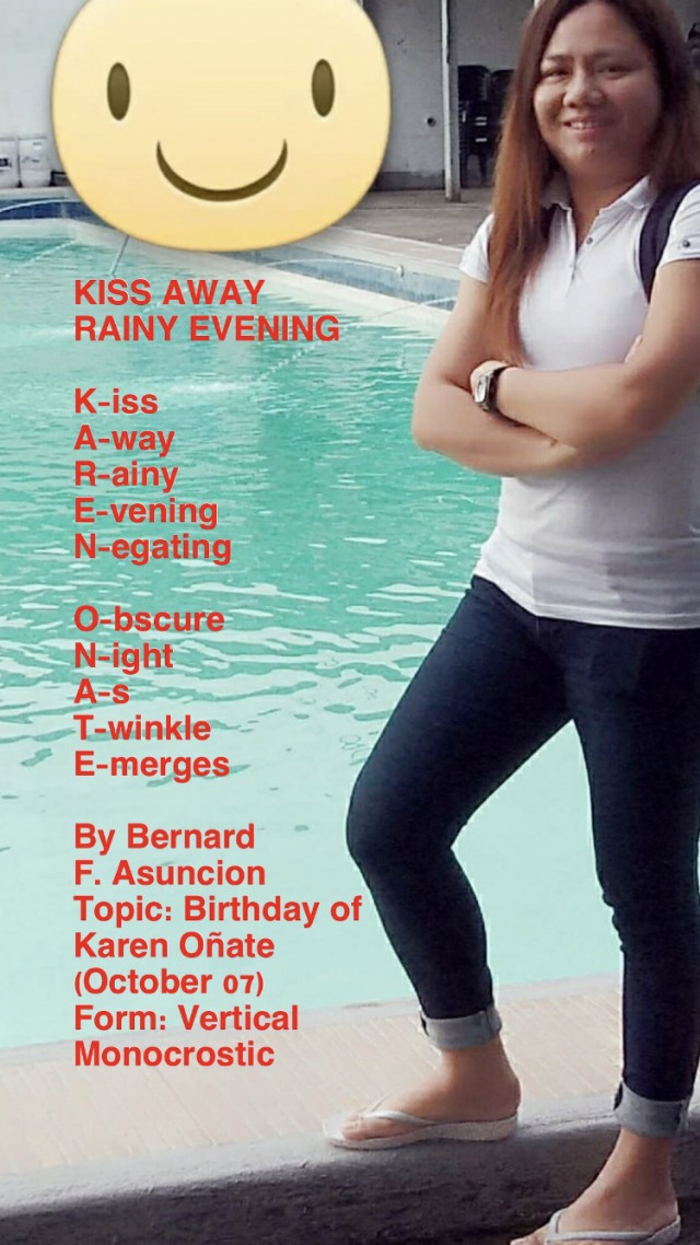 Comments About Kiss Away Rainy Evening By Bernard F Asuncion