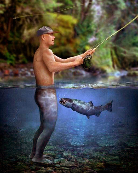 Funny women fishing pictures