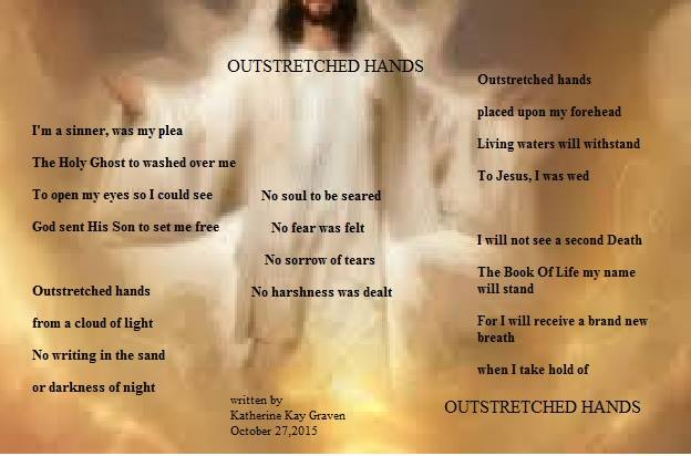Outstretched Hands Poem by Katherine Kay Graven - Poem Hunter