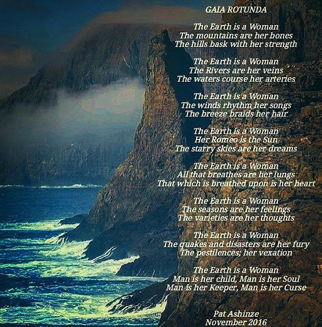 The Earth Is A Woman {gaia Rotunda}