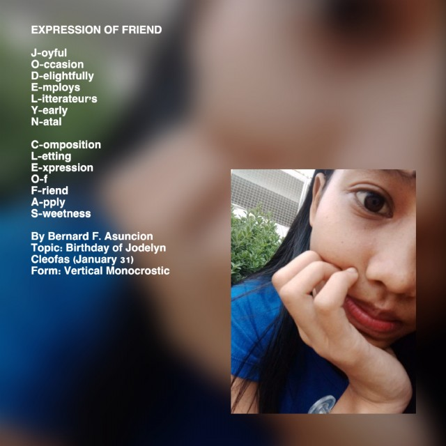 Expression Of Friend