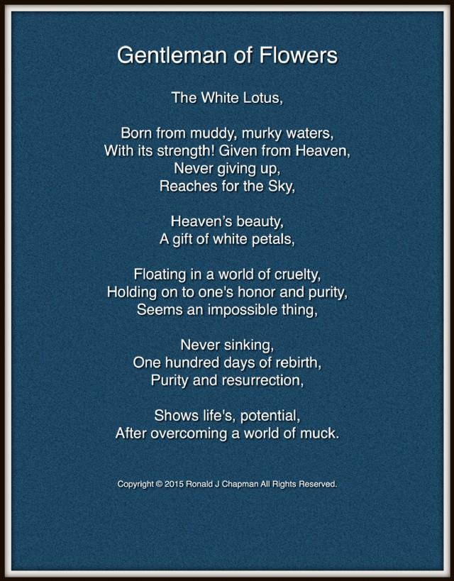 Gentleman of flowers poem by ronald chapman poem hunter gentleman of flowers poem by ronald chapman mightylinksfo