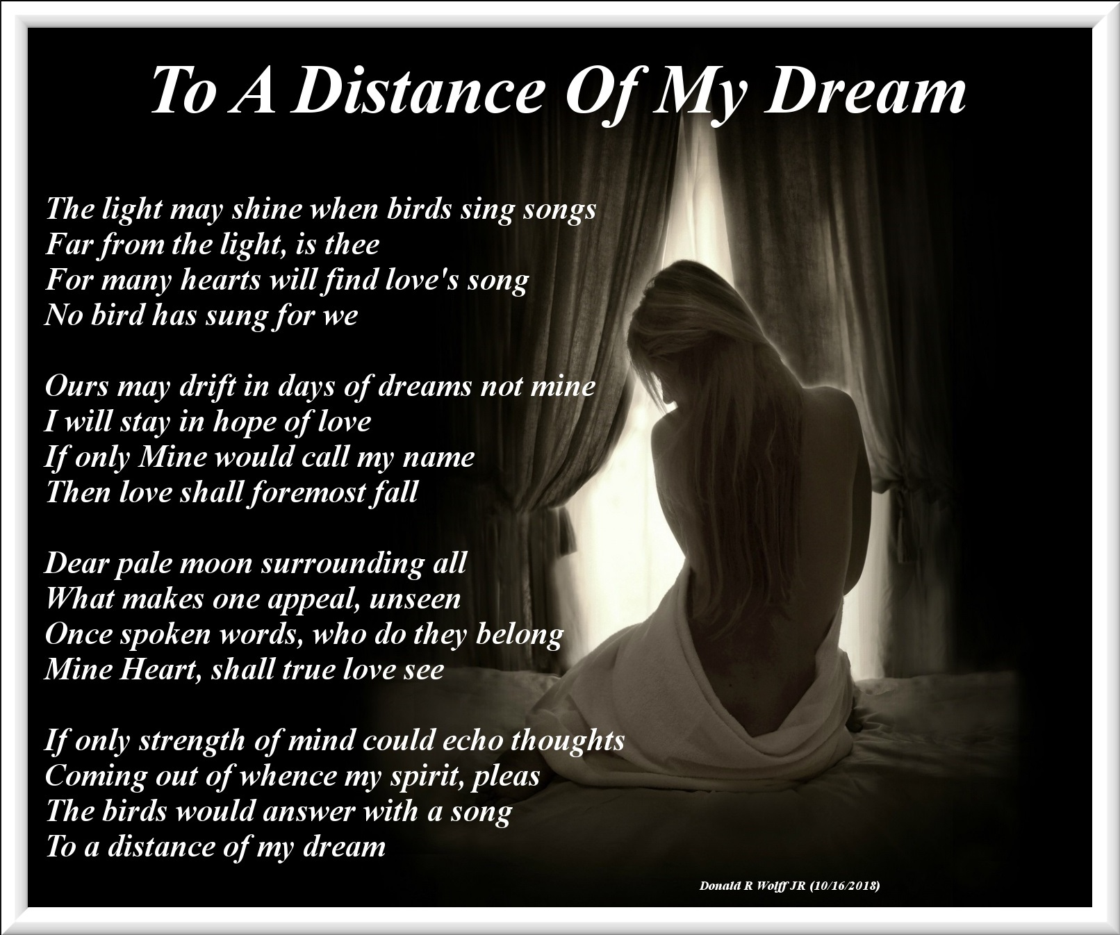 To A Distance Of My Dream