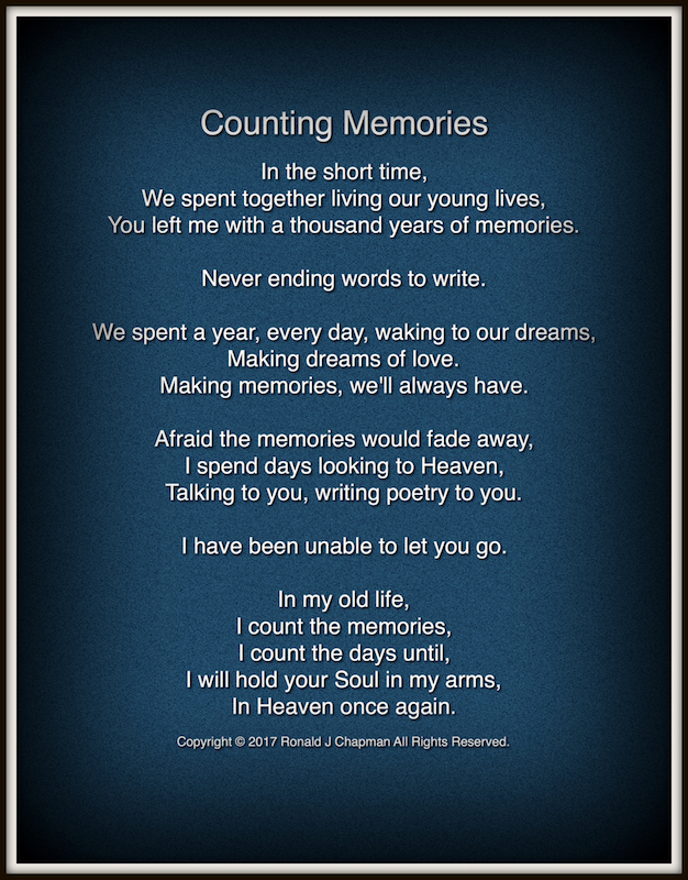 Memories: A Collection of Poems about Life