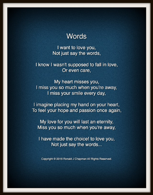 words to say i love you so much