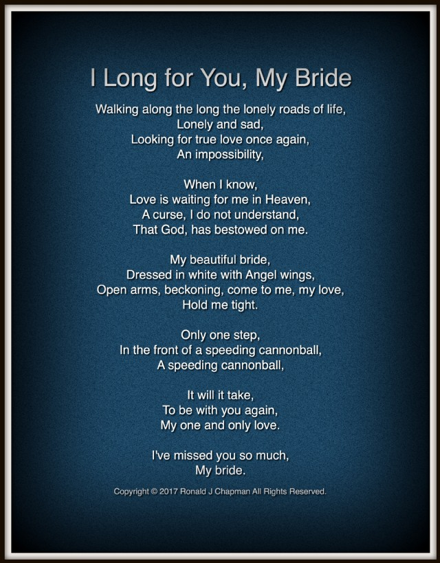 Topic(s) Of This Poem: For Her, Forever, Heart Love, Heaven, Life And  Death, Longing, Love, Love And Dreams, Love And Life, Missing You