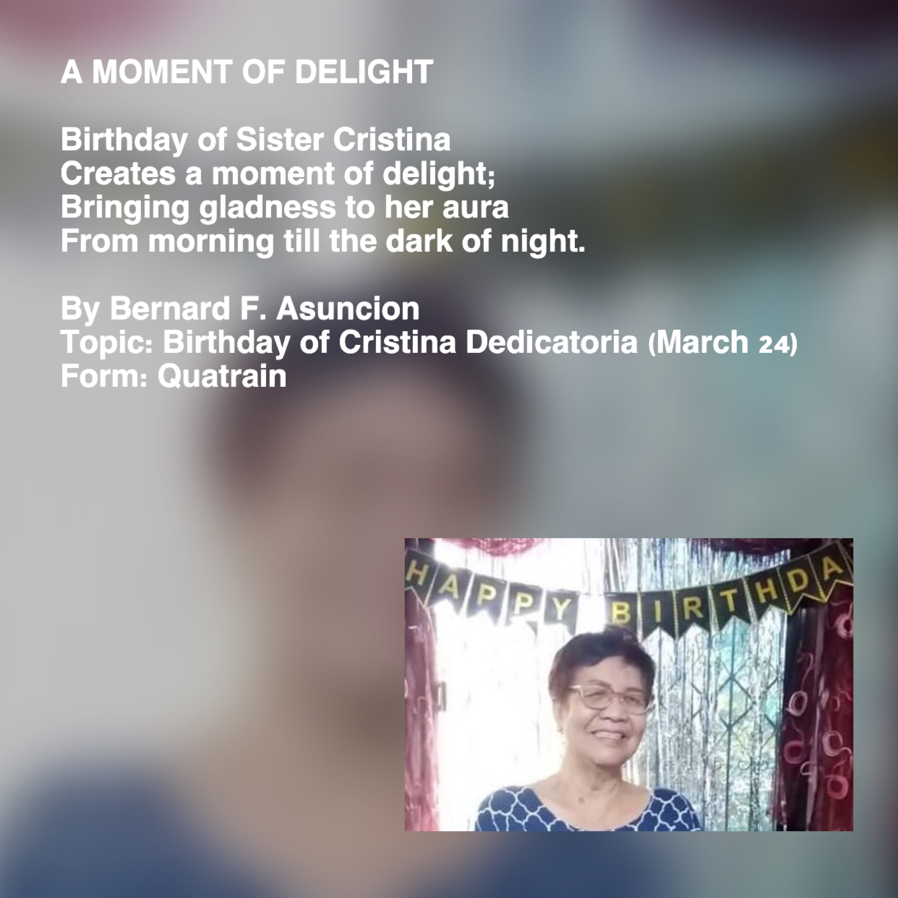 A Moment Of Delight