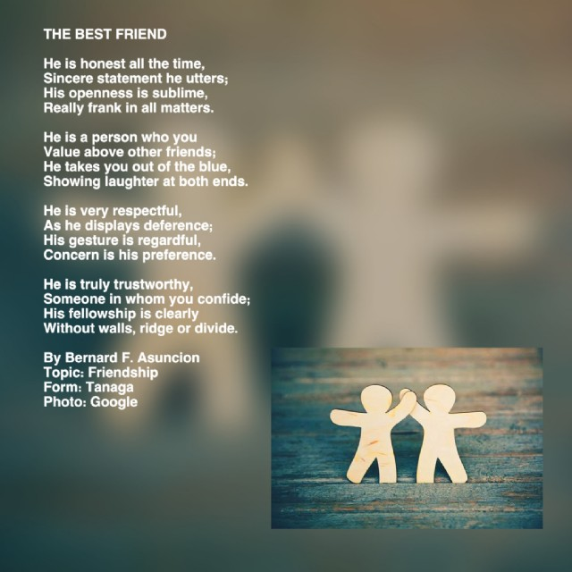 Hunters Ridge Scorecard: The Best Friend Poem By Bernard F. Asuncion