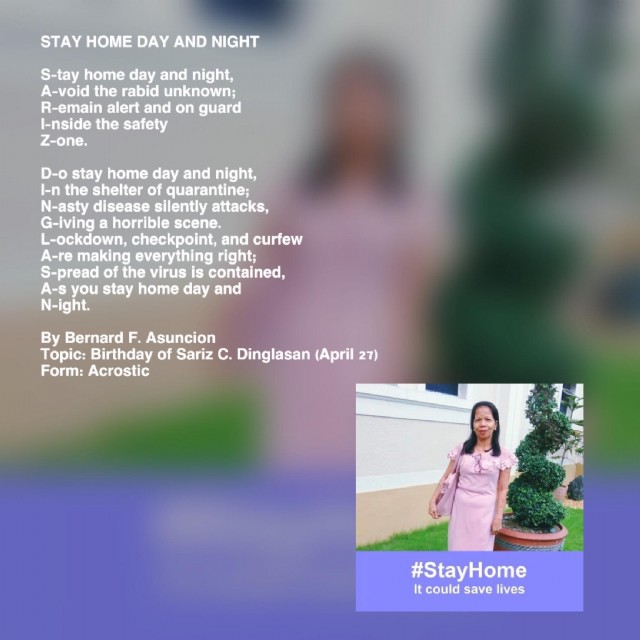 Stay Home Day And Night