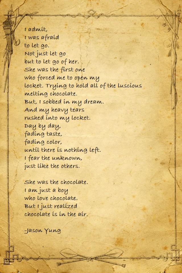 Let Go Of Her Poem By Jason Yung Poem Hunter