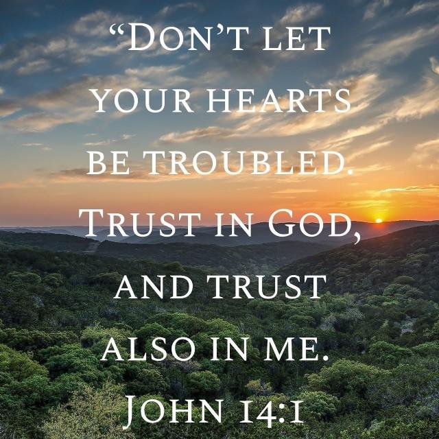 Jesus Is Still Comforting Us....