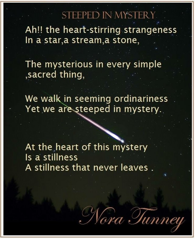 Steeped In Mystery