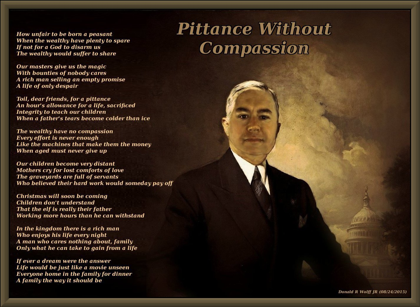 Pittance Without Compassion
