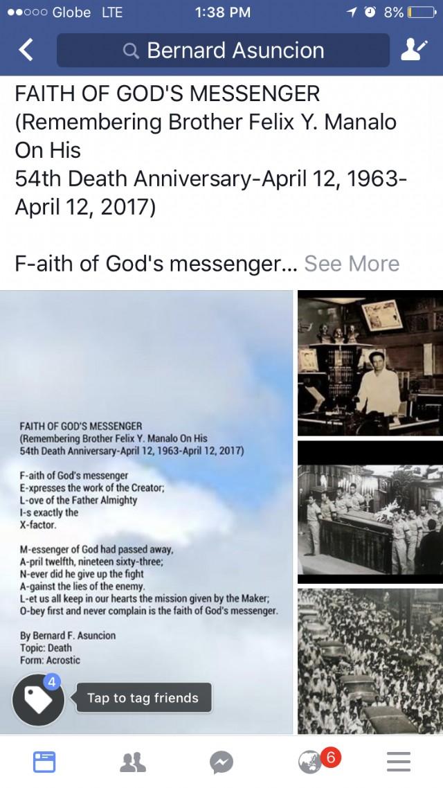 Faith Of God's Messenger Poem by Bernard F  Asuncion - Poem