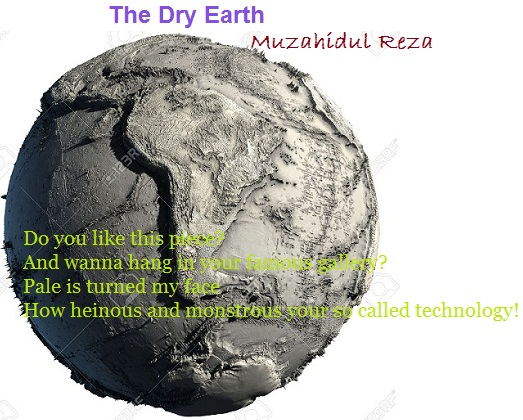 The Dry Earth (Ekphrastic Poetry)