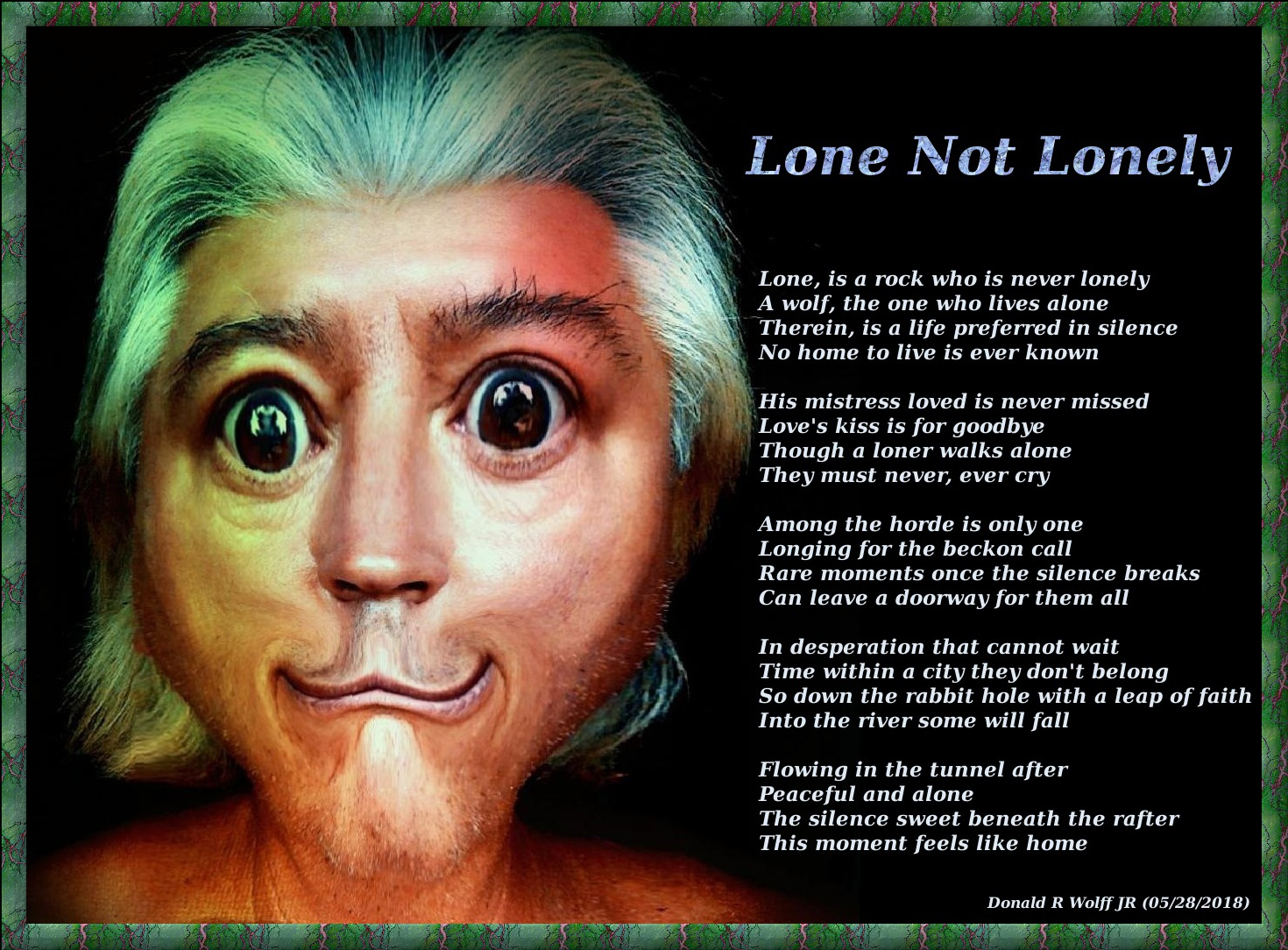 Lone Not Lonely