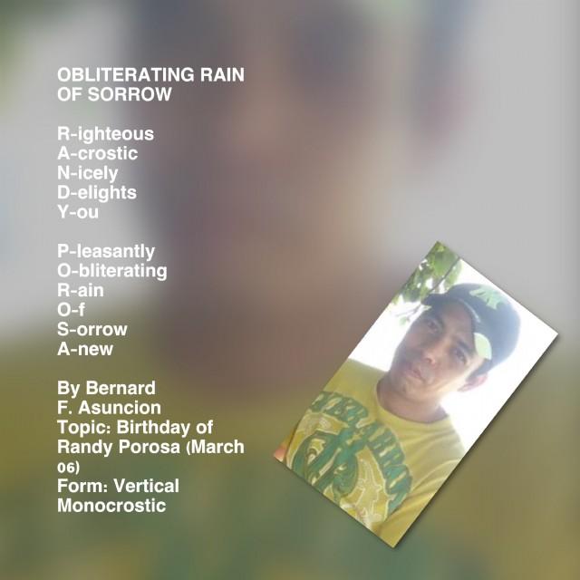 Obliterating Rain Of Sorrow