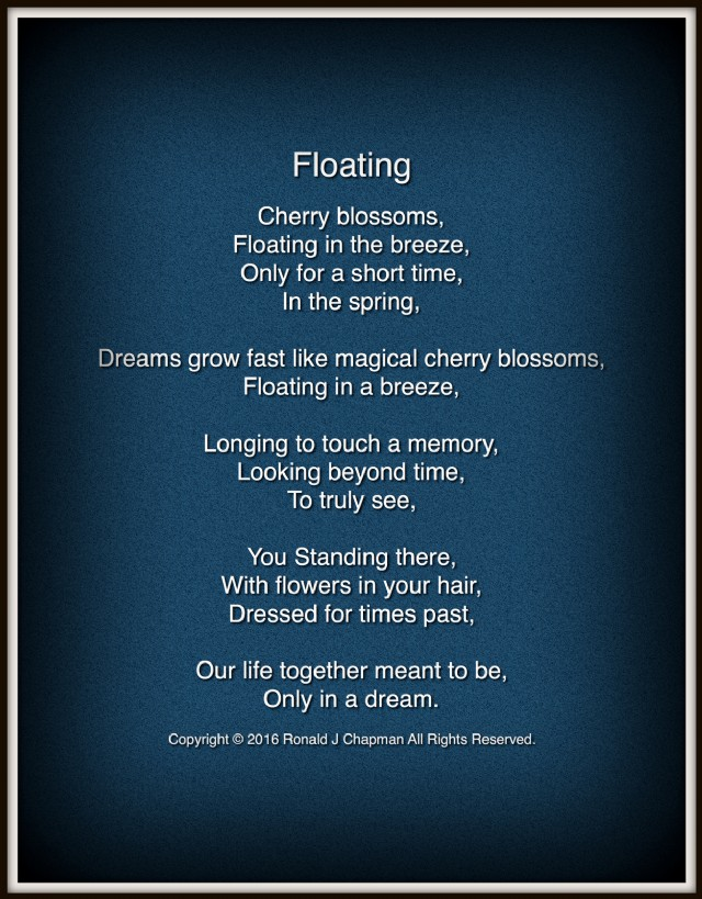 Floating Poem by Ronald Chapman - Poem Hunter