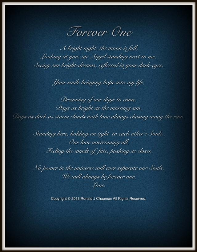 Forever poem my love Forever Love