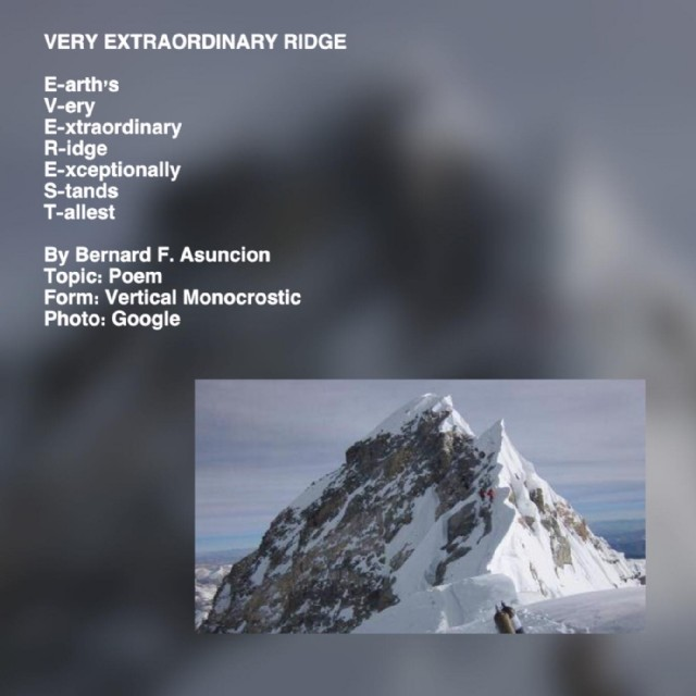 Hunters Ridge Scorecard: Very Extraordinary Ridge Poem By Bernard F. Asuncion