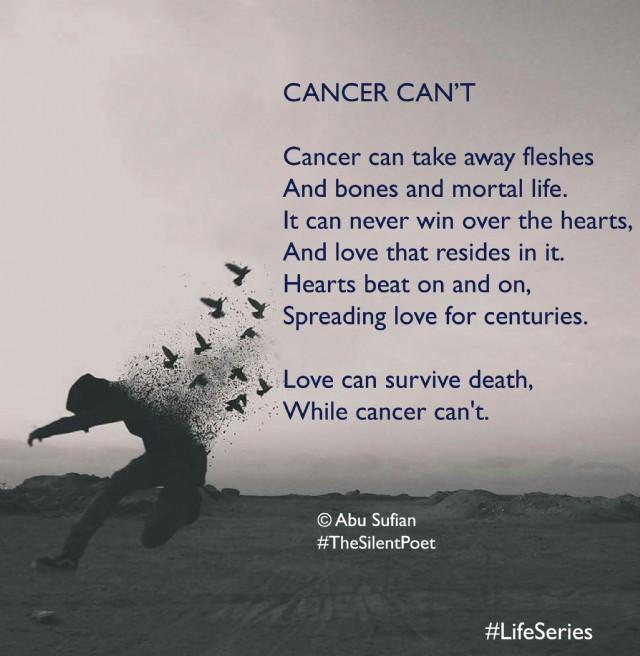 Cancer Poems 5