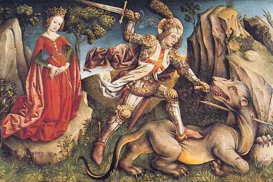 st george and the dragon poem What'sthe point, really this poetry lesson aims to teach the following: - you/students will know more about the famous st george (and the dragon.