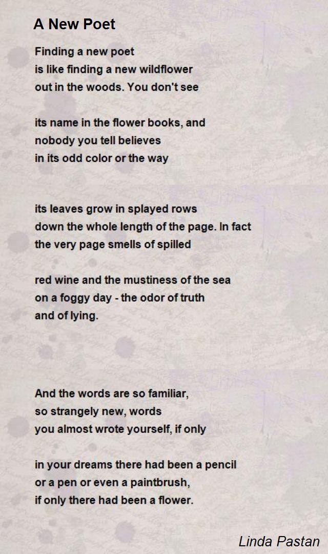 love poem by linda pastan analysis