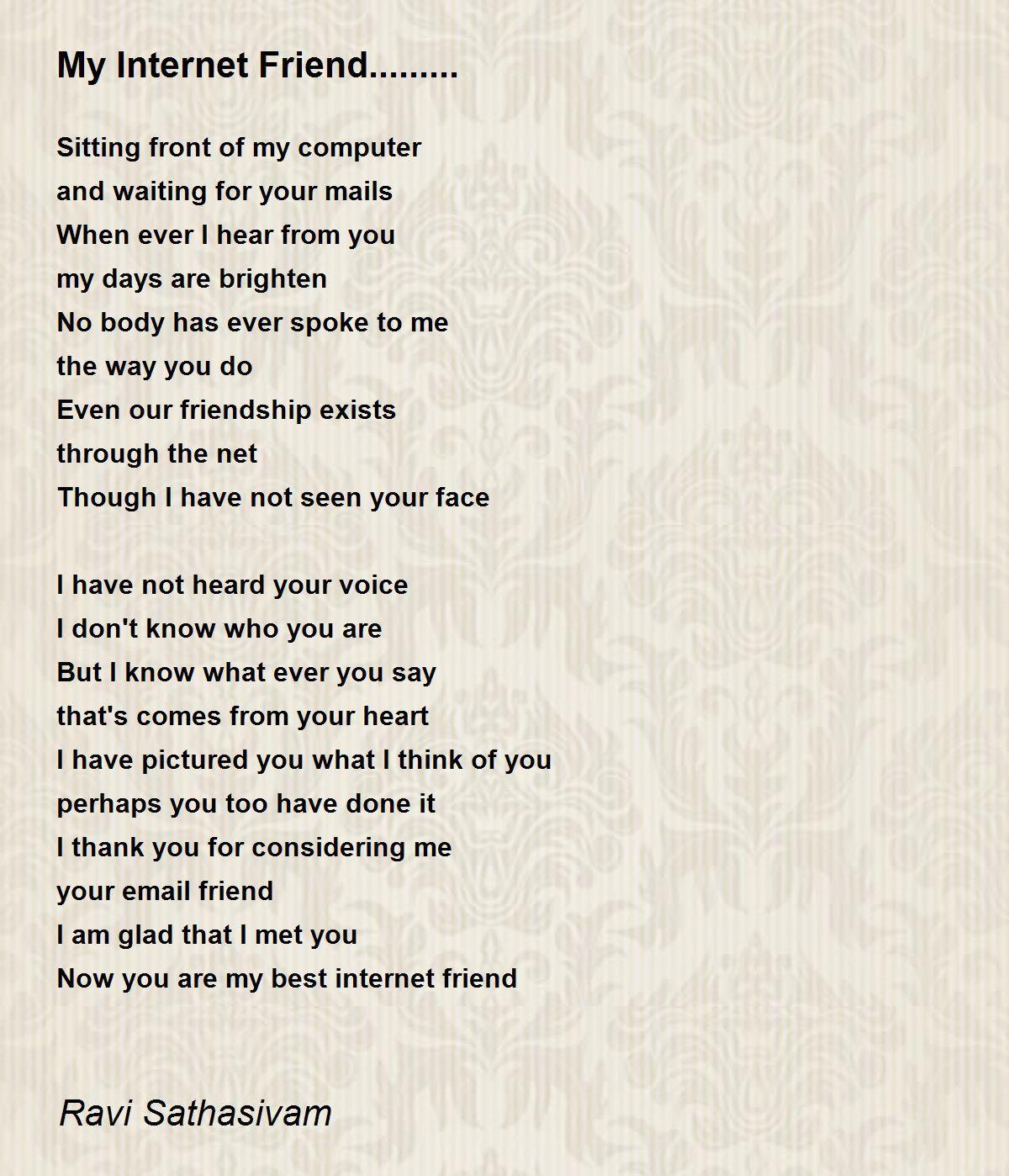 Poems short bff 10 Best
