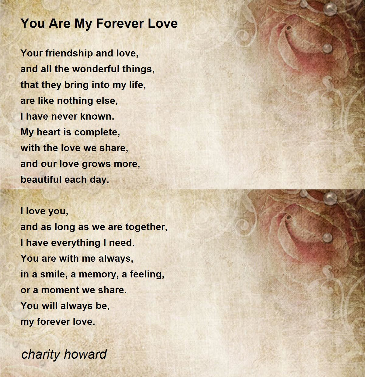 We the poem love share The Love
