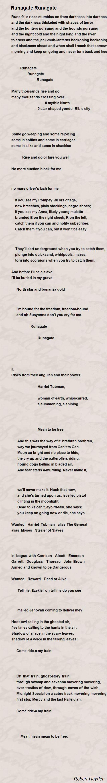 an analysis of runagate runagate by robert hayden 1hayden,robert earl—criticism and interpretation  [runagate runagate] 322  and pontheolla t williams,robert hayden: a critical analysis of his poetry.