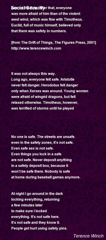 poem safe sex