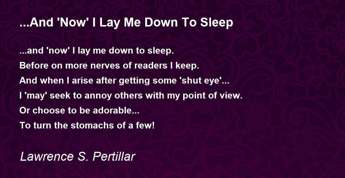 Why do I fall asleep when I tilt my head back?