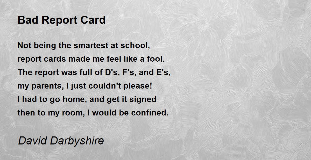 Bad report card means good cock in your pussy 3