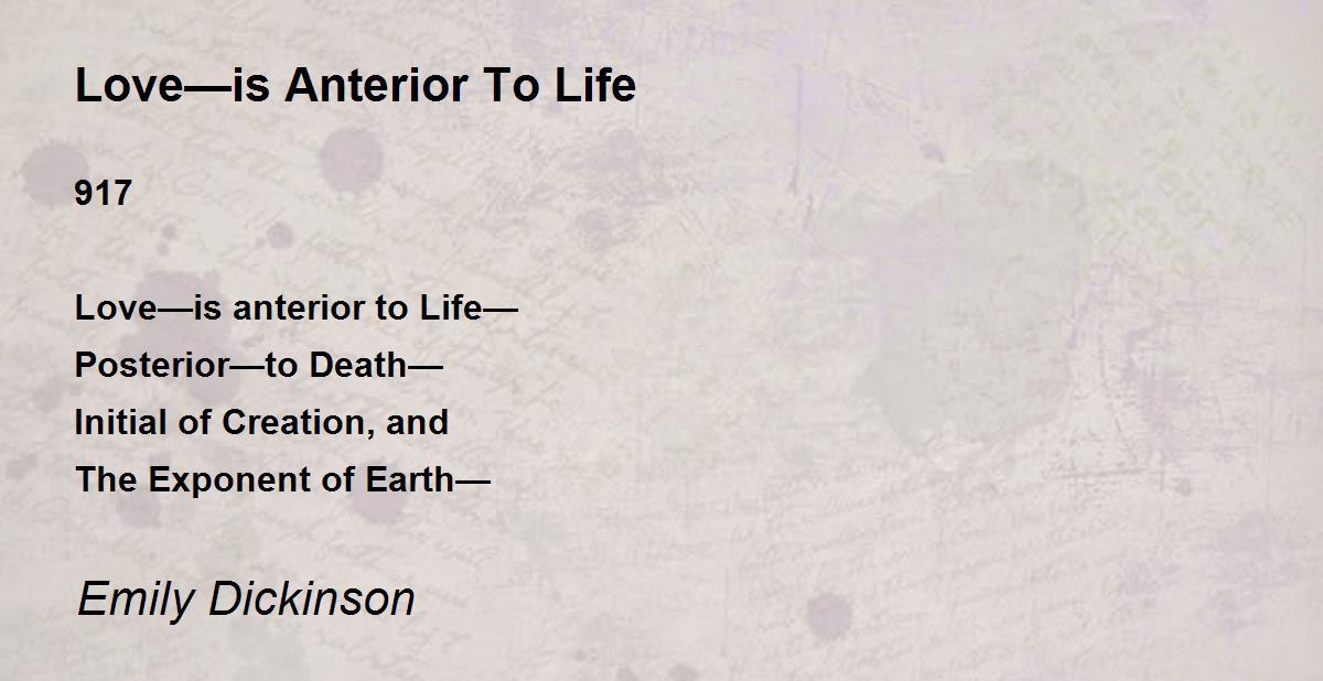 life and death in the poetry of emily dickinson Collection that celebrates the radical style of a visionary american poet  throughout her life, and even more so since her death in 1886, emily dickinson was.